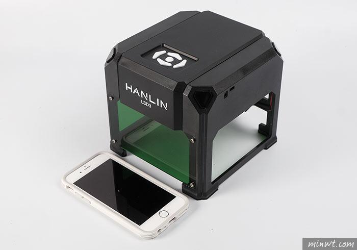 梅問題-[開箱] HANLIN-LSD3超迷你雷射雕刻機,自刻LOGO超EZ(雷射功率1500mw)