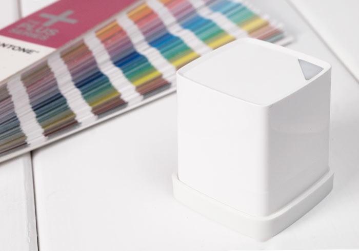 [開箱]Cube 真實色彩感測器,有了它!跟色票說掰掰!