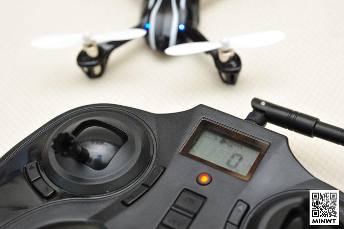 梅問題-《哈博森 H107》巴掌大迷你四軸穩定、輕巧、好飛