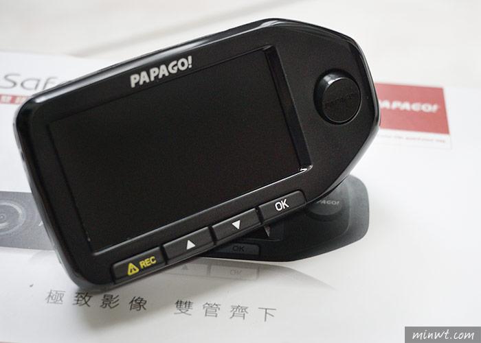 梅問題-PAPAGO! GoSafe 760前後雙鏡頭行車記錄器與胎壓偵測器二合一