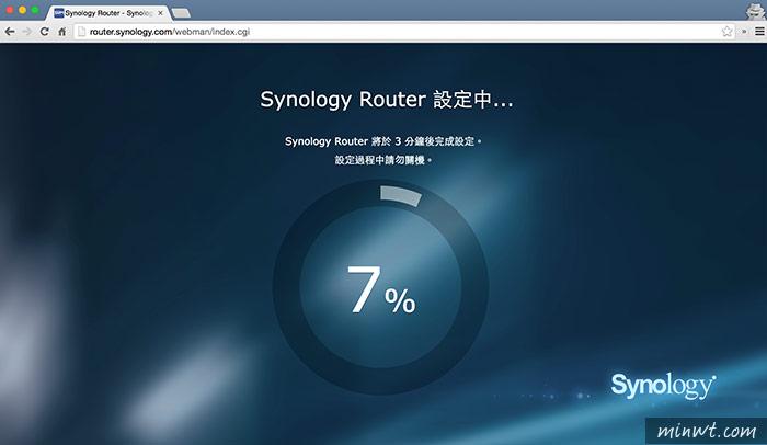 梅問題-群暉Synology RT1900ac全圖形化界面無線分享器