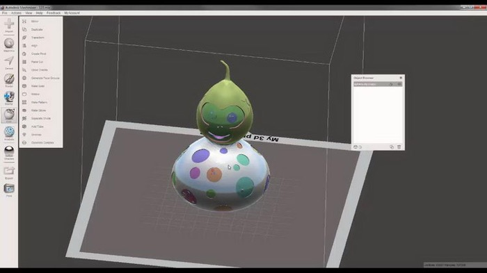 梅問題-用3D列印打造,2016醜醜萌萌黃金「福祿猴」
