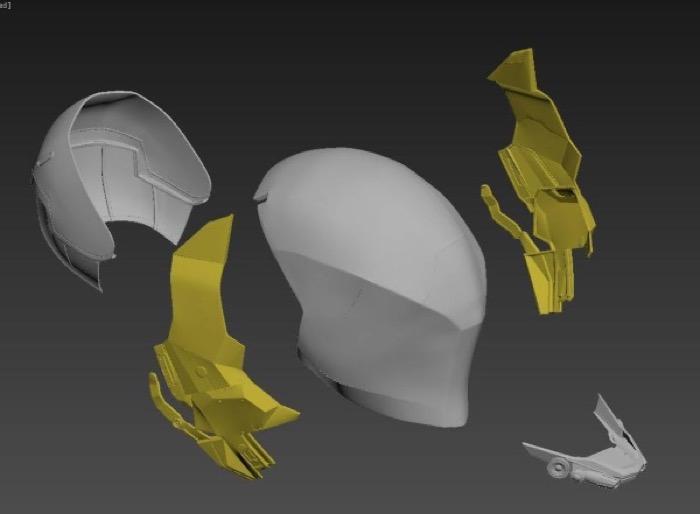 梅問題-你也是超級英雄!3D列印Cosplay蝙蝠俠:阿卡漢騎士作法大公開