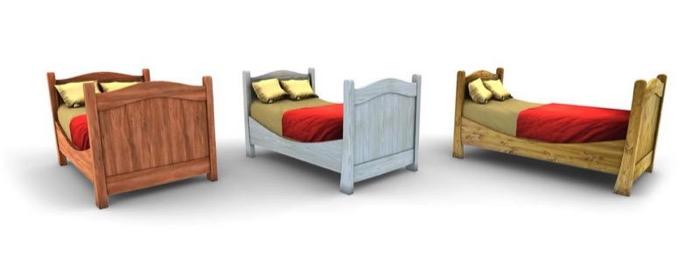 梅問題-用3D將梵谷知名畫作Bedroom變成虛擬實境