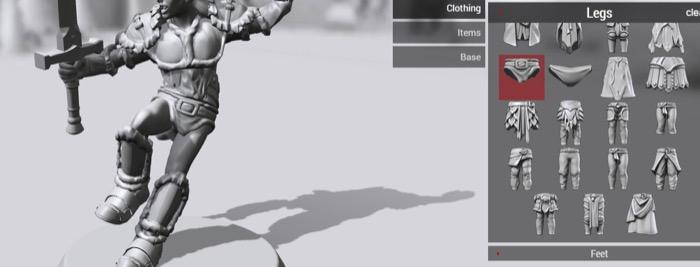 梅問題-【Hero Forge】線上打造你的3D英雄聯盟公仔