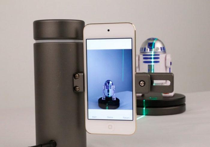 梅問題-EORA 3D讓智慧型手機也能變身為高解析3D掃描機