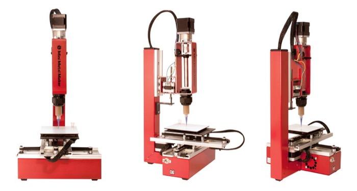 梅問題-3D列印-3D Mini Metal Maker金屬列印-自創飾品不是夢