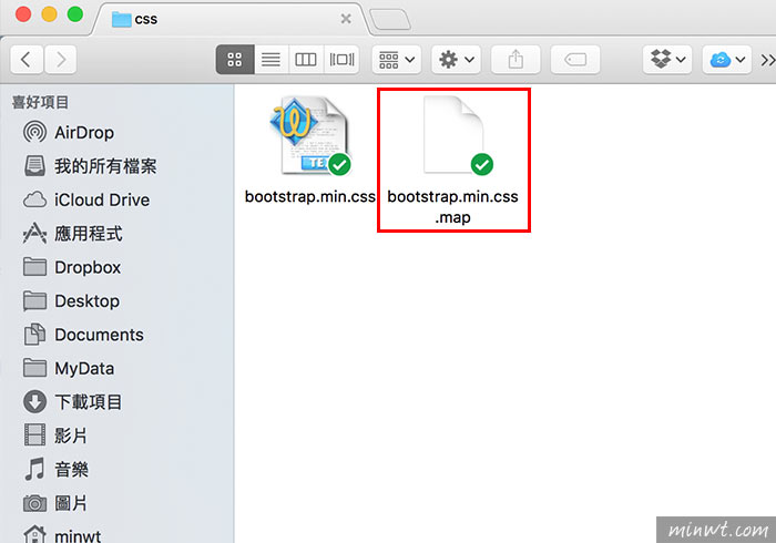梅問題-Bootstrap教學-bootstrap.css.map的作用與如何關閉不引用該檔案