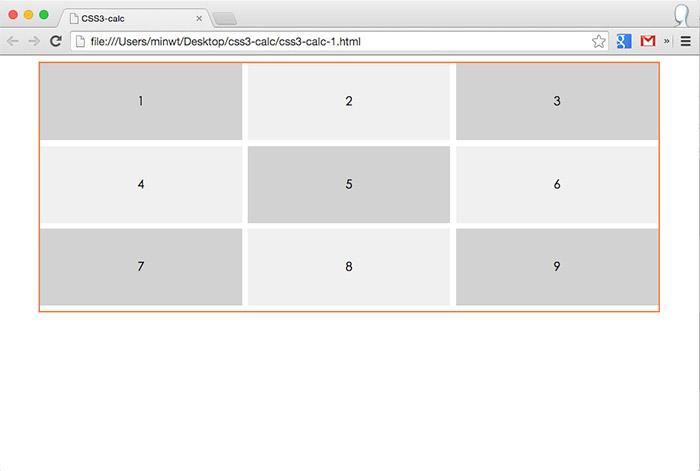 梅問題-《CSS3 Calc》讓CSS單位也可用加、減、乘、除