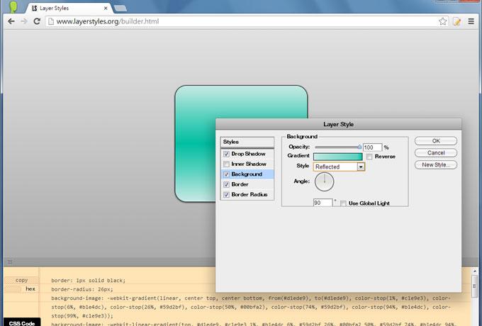 梅問題-CSS3工具-仿Photoshop圖層樣式CSS3樣式產生器