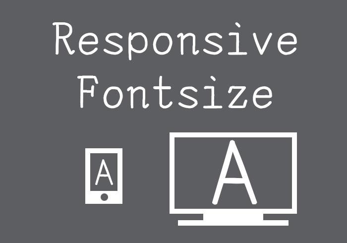 [教學] 透過CSS讓文字支援RWD隨著裝置自行縮放文字大小