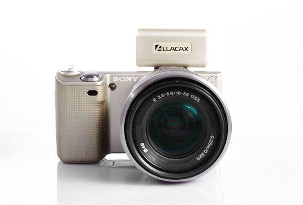 梅問題-攝影器材分享-Sony NEX 系列專用無線觸發器Allacax