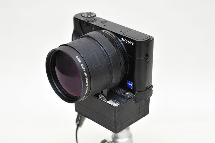 梅問題-《Canon 250D近攝鏡》讓Sony RX100任何焦段皆可近拍