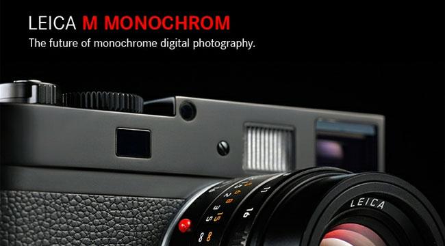 梅問題-攝影器材分享-Leica M-Monochrom頂級黑白數位單眼相機