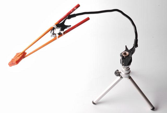 梅問題-攝影器材-200元自製美食攝影專用夾肉器