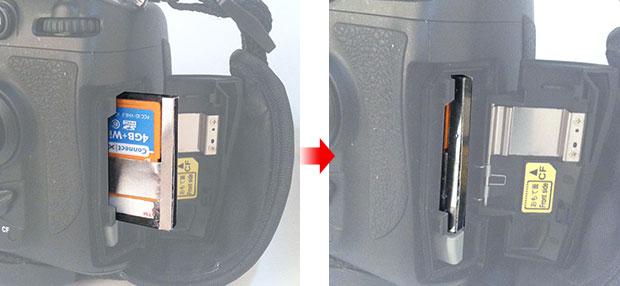 梅問題-攝影器材-將SD轉CFII卡改裝成CFI