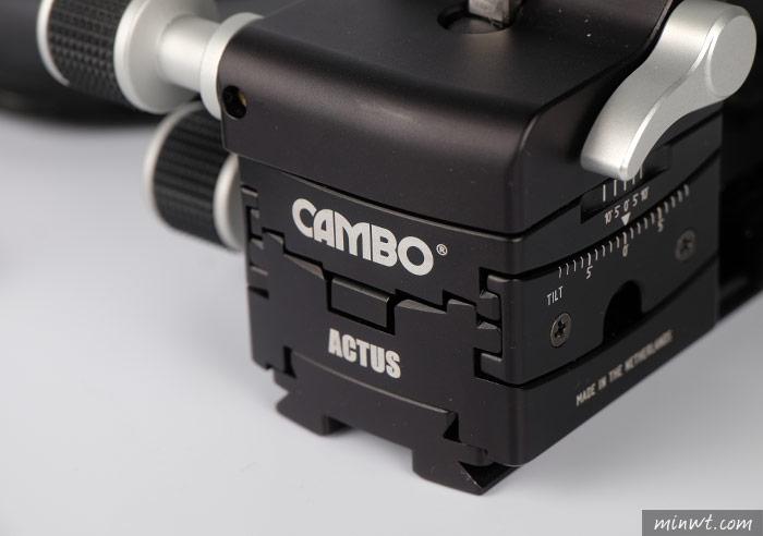 梅問題-CAMBO ACTUS Mini開箱