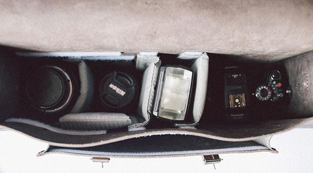 梅問題-英國劍橋包變一機三鏡一閃相機包