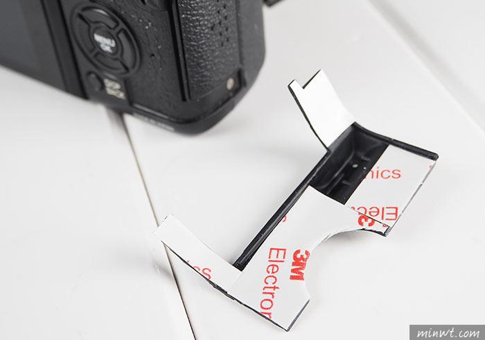 梅問題-[DIY] 相機蒙皮脫落,自行修復就是這麼簡單(X-T1為例)