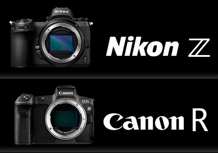 Nikon Z 與 Canon R 一張圖表,快速了解新一代全幅機的差異