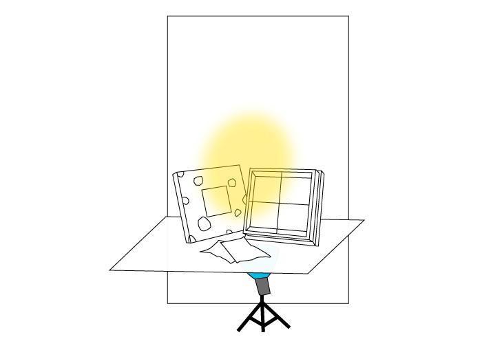 梅問題-商品攝影-拍出雪白又閃亮的喜餅禮盒