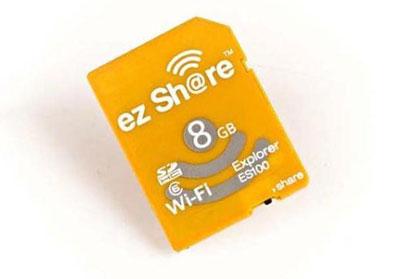 梅問題-器材分享-ez Share無線SD記憶卡分享照片更EZ