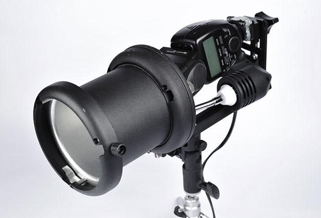 梅問題-器材DIY-將機頂燈變成Bowens棚燈