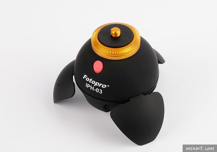 梅問題-FOTOPRO 小蘋果360度電動雲台,拍攝全景好利器
