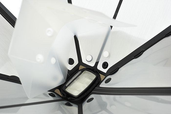 梅問題-《GamiLight》輕巧易組裝機頂燈罩(柔光罩、束口罩、反光罩)