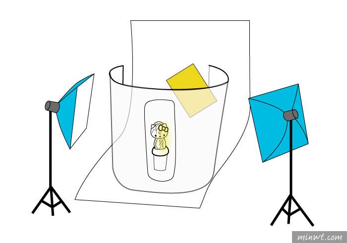 梅問題-拍出金屬電鍍與鑽石切面的Hello Kitty洗臉機
