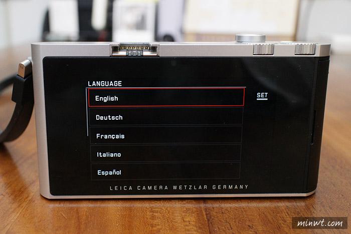 梅問題-《Leica T 韌體更新v1.2》觸控變得更順暢與多項功能優化