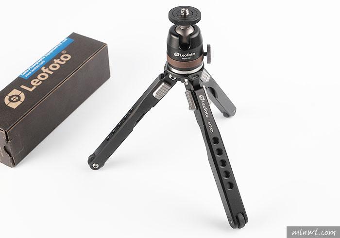 梅問題-[開箱] Leofoto 徠圖MT-03,桌面迷你蜘蛛型三腳架,航舦級鋁合金打造,連120相機也頂的住