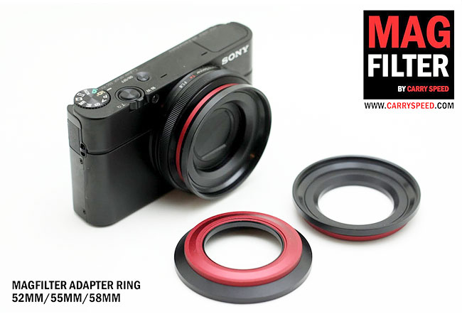【Sony RX100 配件】Sony RX100專用鏡頭螺旋轉接環