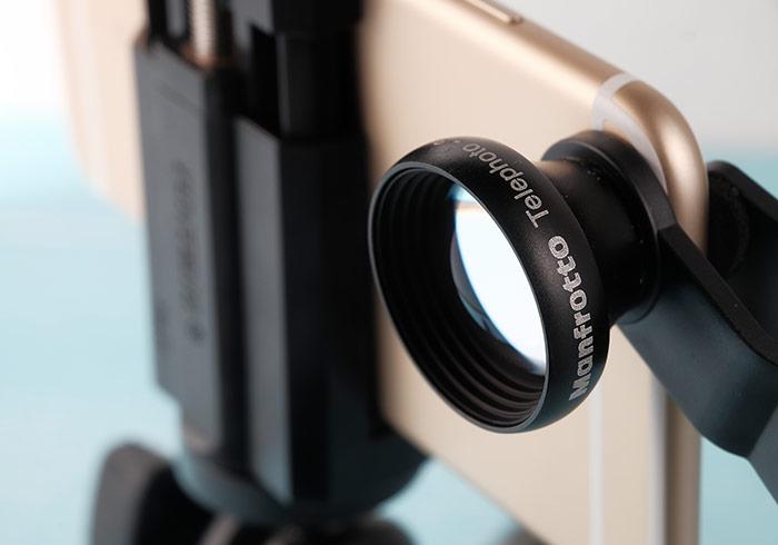 「Manfrotto Telephoto 3x」專為iPhone手機攝影而生的3倍增距鏡