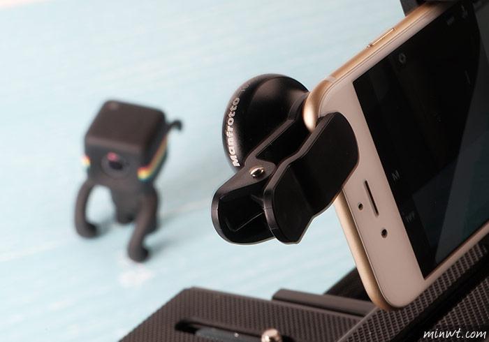 梅問題-「Manfrotto Telephoto 3x」專為手機攝而生3倍增距鏡