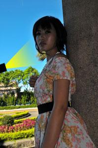 梅問題-攝影教學-外拍人像攝影大玩光影變化