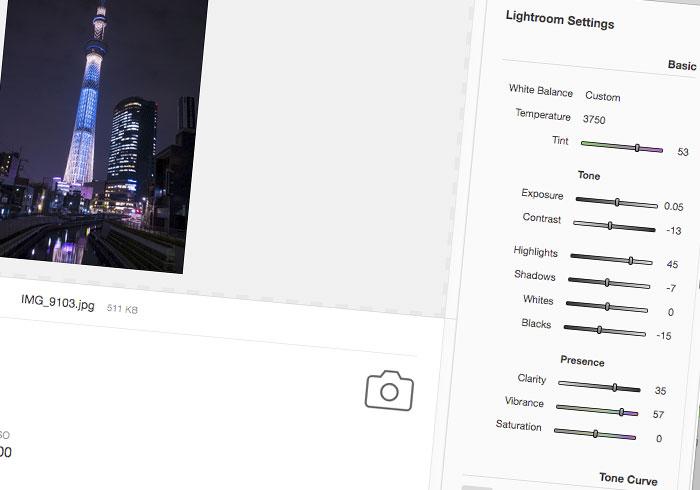 Pixel Peeper 照片誠實豆沙包,相機、曝光值與Lightroom作了那些設定,都能一清二楚