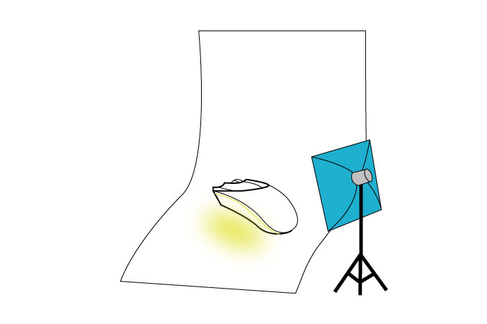 梅問題-商品攝影教學-如何拍出雷蛇炫麗七彩LED發光效果