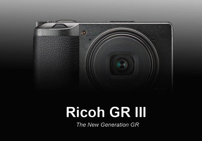 RICOH GR III正式發表!搭載全新28mm鏡頭、觸控螢幕與內建2GB儲存空間