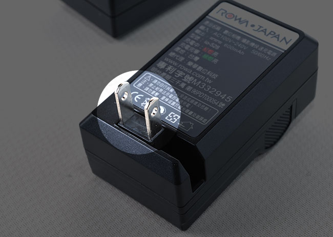 梅問題-Sony RX100 副廠專用充電器ROWA Japan