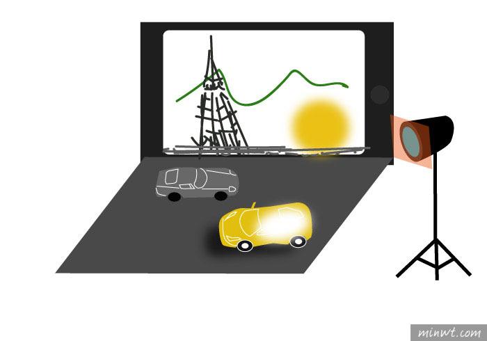 梅問題-「手機商品攝影-22」用手機也能拍出情境城市小車