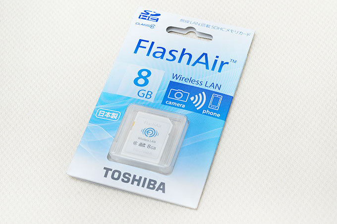 �����D-�i�L�u�O�Хd�jToshiba FlashAir Wifi SDHC �O�Хd