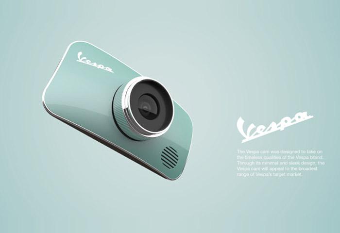 梅問題-文青相機OUT!偉士牌概念造型相機IN