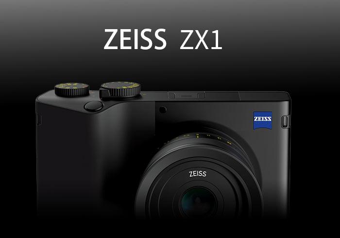 蔡司ZEISS ZX1全片幅隨身機發表!搭載35mm f/2.0、內建Lightroom與內存512GB空間