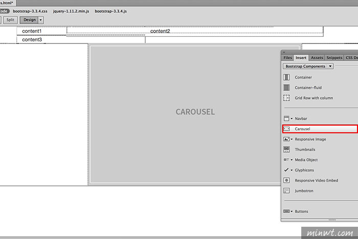 梅問題-《Dreamweaver CC 2015限定》Bootstrap全圖形化製作工具