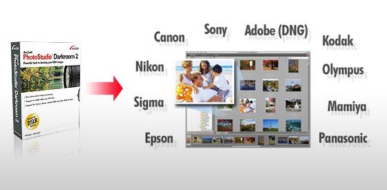 [PC]PhotoStudioDarkroom免費專業級RAW檔編修軟體支援各大相機品牌
