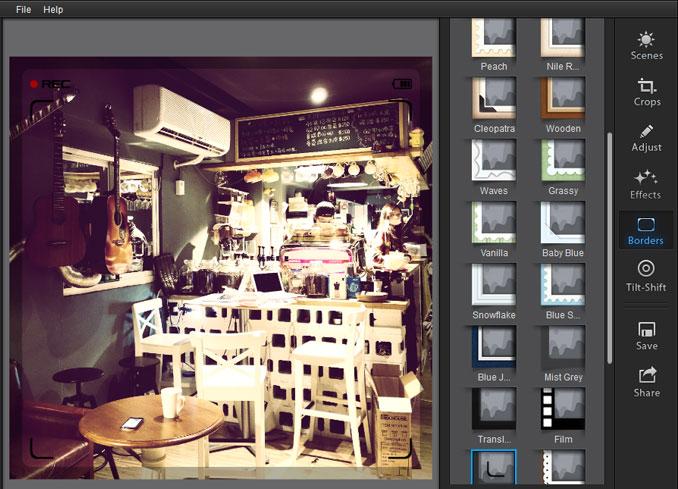 梅问题-影像软体-fotor内建各种滤镜特效与移轴效果
