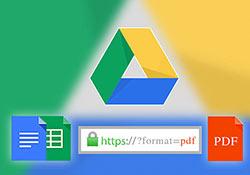 [密技] 透過網址就可快速,將Google文件與試算表轉成PDF檔