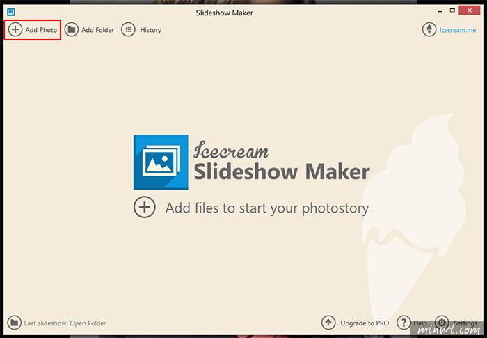 梅問題-Icecream Slideshow Maker 快速將相片變影片超簡易