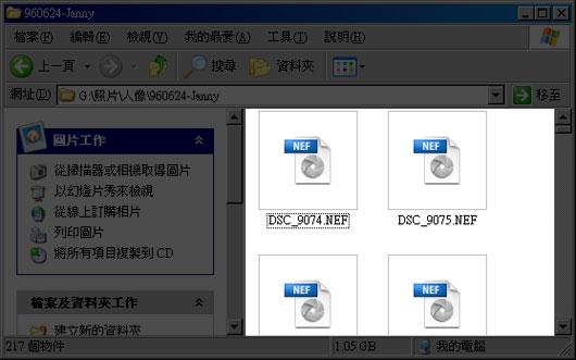 梅問題-Microsoft RAW Image-內建直接預覽RAW檔縮圖